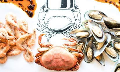 image for <strong>Seafood</strong> at HoolyCrab Boil <strong>Seafood</strong> + Bar (Up to 36% Off)