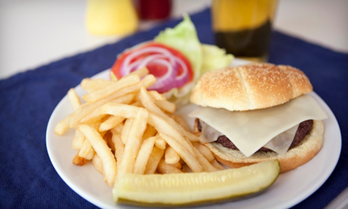 Sidelines Sports Pub - Avon: $20 for $40 Worth of Burgers, Wings, and Sandwiches for Lunch at Sidelines Sports Pub