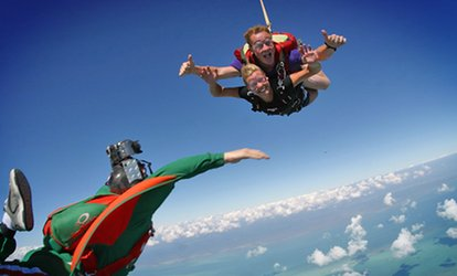 image for Tandem Skydive Jump from 13,000 Feet with T-Shirt at Skydive Kapowsin (Up to 10% Off)