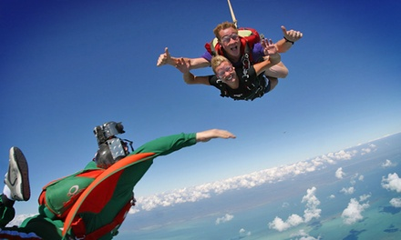 Tandem Skydive Jump from 13,000 Feet with T-Shirt at Skydive Kapowsin (Up to 12% Off)