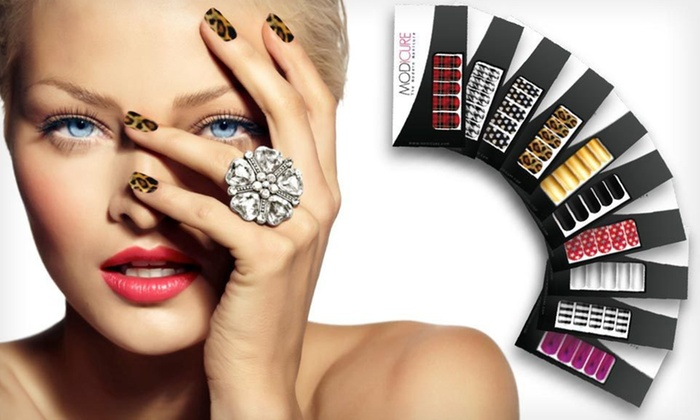 Modicure Nail Wrap Sets: $20 for 10 Modicure Nail Wrap Sets ($120 List Price). Free Shipping.