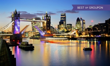 London: 1 to 3 Nights for Two with Breakfast at 4* The Tophams Hotel