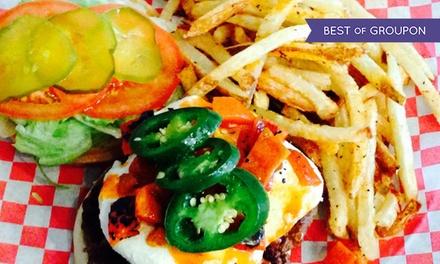 Burgers at The Burger Bar (Up to 45% Off)