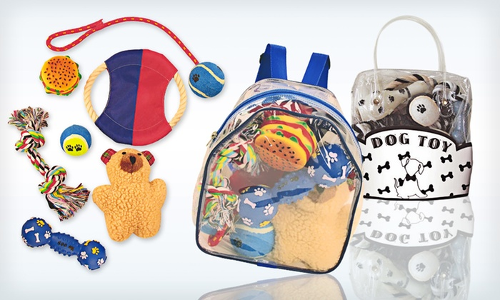 Pet Life Dog Toy Gift Sets: $14.99 for a Pet Life Dog Toy Gift Set ($25 List Price). Four Options Available. Free Returns.