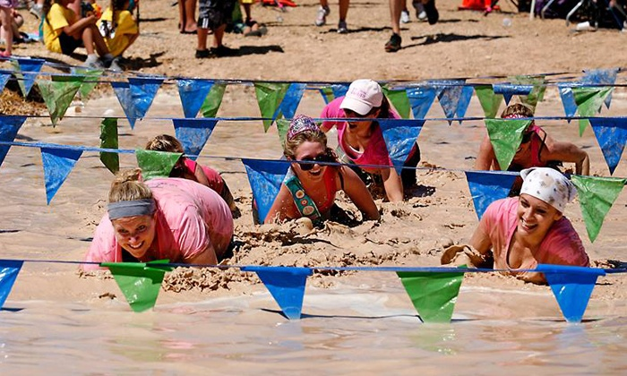 Muddy Cheer Challenge - Beaumont, TX: Entry for One Adult to the Muddy Cheer Challenge (Up to 53% Off)
