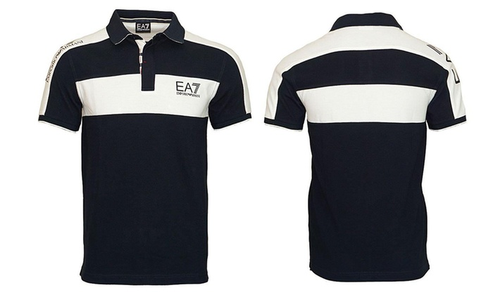 8b854e17 Men's Emporio Armani EA7 Polo Top | Groupon Goods