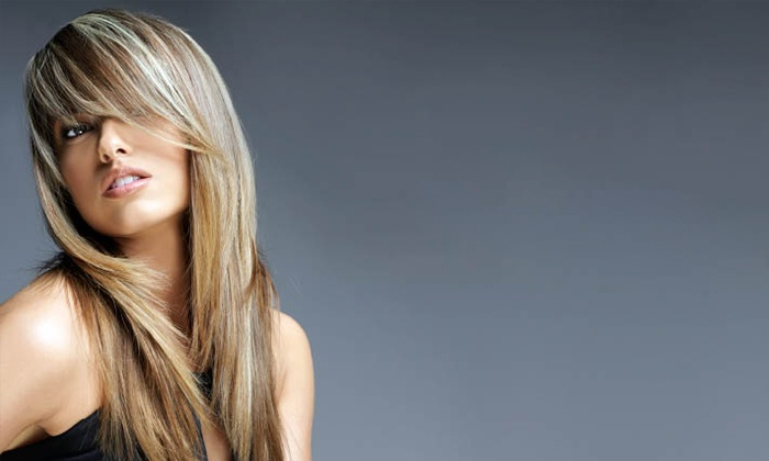 Mitchell's Salon & Day Spa - Springdale: $72 for a Haircut with Foil Highlights and Finished Design at Mitchell's Salon & Day Spa ($144 Value)
