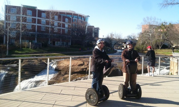 Greenville Glides - Greenville Glides: Two-Hour Segway Tour for Two or Four from Greenville Glides (Up to 50% Off)