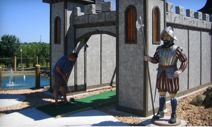 Greatest Adventures Mini Golf - Greatest Adventures Mini Golf: Day Pass Valid from 10 a.m.–5 p.m. for Two or Four at Greatest Adventures Mini Golf (Half Off)