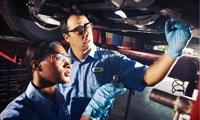 Virginia Auto Service - Phoenix: $49 for a Car-Care Package with Oil Changes and Roadside Service from Virginia Auto Service (Up to $284.70 Value)