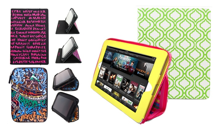 Punchcase for iPad 2/3/4, iPad mini, or Kindle Fire: Punchcase for iPad 2/3/4, iPad mini, or Kindle Fire from $8.99–$9.99. Multiple Styles and Patterns Available.