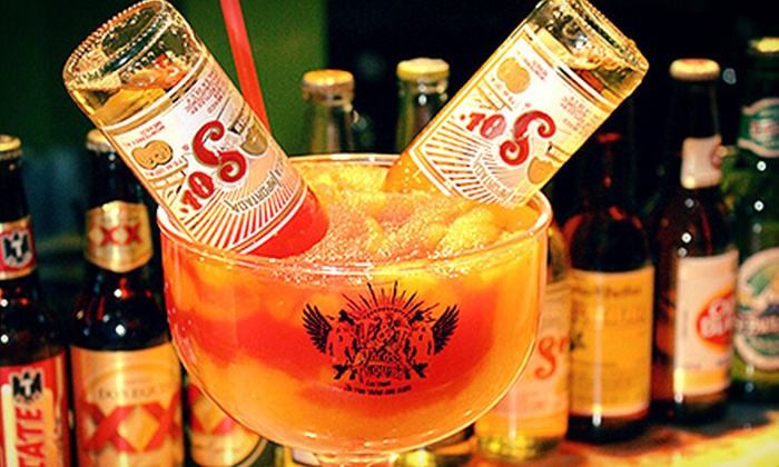 Tacos & Tequila - The Strip: $19.99 for Two 42-Ounce Frozen Margaritas at Tacos & Tequila ($40 Value)