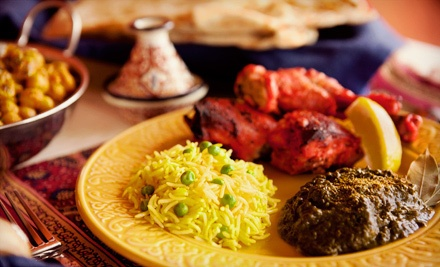 Indian cuisine angeethi authentic indian cuisine groupon for Angeethi authentic indian cuisine