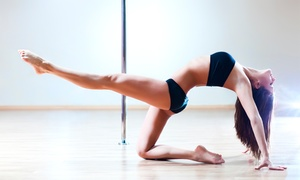 Unveiled Fitness: Three Introductory Pole-Dancing Classes or One Week of Unlimited Classes at Unveiled Fitness (55% Off)