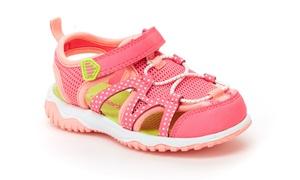 Carter's Zyntec Kids' Bump-Toe Sandals (Sizes 9, 10, 11)