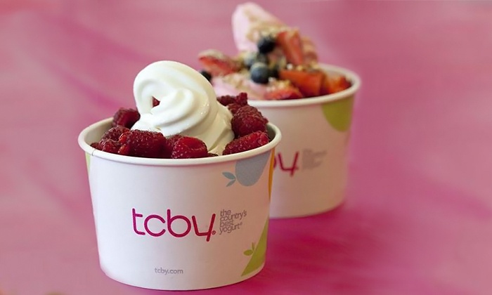 TCBY Vancouver - Ambleside: C$10 for $20 Worth of Frozen Yogourt Treats at TCBY Vancouver