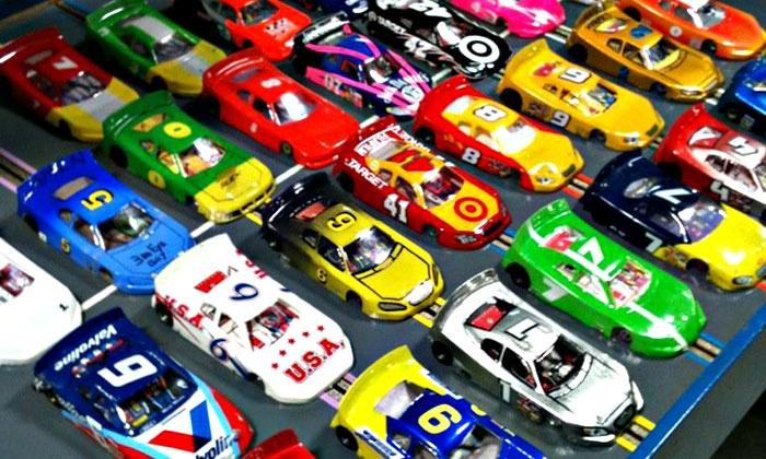 Fast Track Hobbies - Rocklin: Six 15- or 30-Minute Slot-Car Races at Fast Track Hobbies (Half Off)