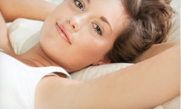 OLA Salon & Spa - Orleans Village - Chateauneuf: $179 for One Year of Unlimited Laser Hair Removal for Three Areas at OLA Salon & Spa (Up to $2,944 Value)