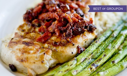 Upscale American Food or Brunch with Bottomless Drinks for Two at 730 South (Up to 40% Off)