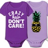 Infant Bodysuit with Printed Image or Quotes