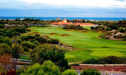 18 Holes of Golf for 2 ($49), 4 ($95) or Upgrade with Cart & Beer for 2 ($89), 4 ($175) at The Secret Harbour Golf Links