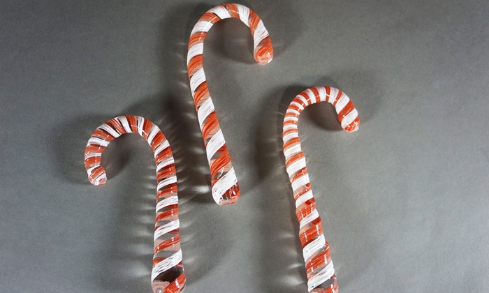 Neusole Glassworks - Neusole Glassworks: Holiday Glassblowing Class with Sculpted Candy Cane or Blown Ornament at Neusole Glassworks (45% Off)