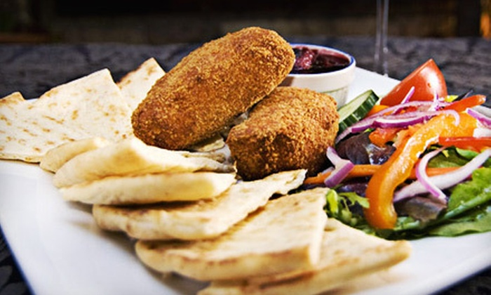 Aroma Mediterranean Restaurant - Central London: $125 for Three-Course Graduation Dinner with Drinks for Four at Aroma Mediterranean Restaurant (Up to $270.80 Value)