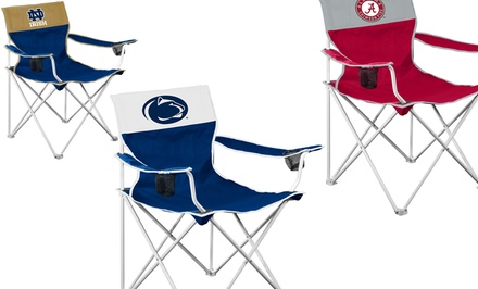 NCAA Big Boy Folding Chair 2-Pack