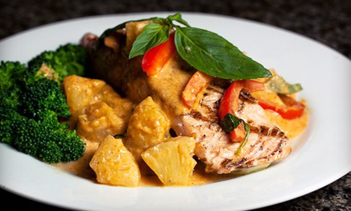 Sukho Thai - Multiple Locations: $10 for $20 Worth of Classic Thai Cuisine at Sukho Thai