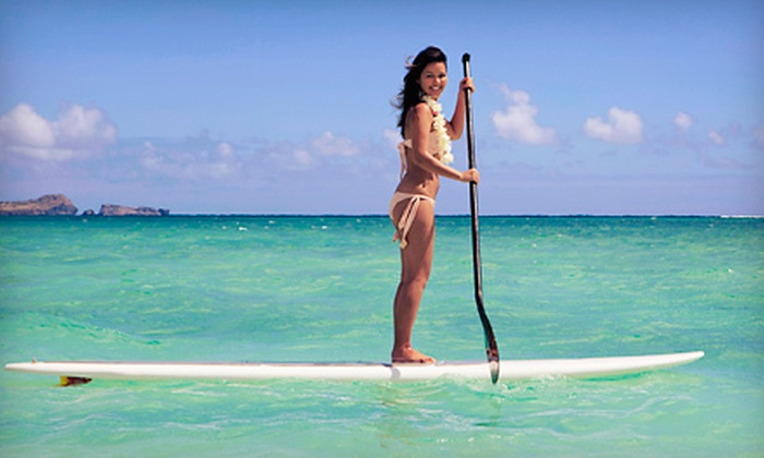Fin's Jet-Ski Tours & Stand-Up Paddleboard Rentals - Clearwater: One-Hour or Half-Day Paddleboard Rentals for One or Two from Fin's Jet-Ski Tours & Stand-Up Paddleboard (Up to 58% Off)