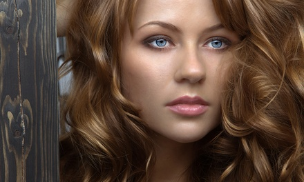 Haircut with Option of Highlights at Usha Salon & Day Spa (Up to 63% Off)