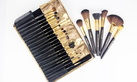 24 Piece Copper Pro Makeup Tool Kit