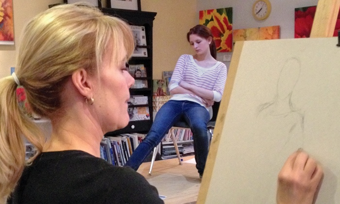 Art House - Southlake: One or Two Fine Art Classes at Art House (50% Off)