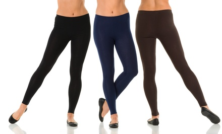 Reduced Price: Sociology 2-Pack of Ankle Length Leggings | Groupon Exclusive