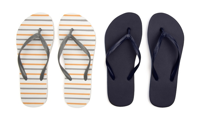 Buy 1 Pair Get 1 Free Sociology Women's Flip Flops | Groupon Exclusive (Size 10/11)