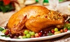 David Burke at Bloomingdale's – 57% Off Thanksgiving-Dinner Package