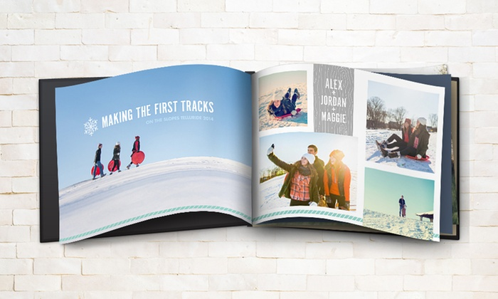 Snapfish: 8x8, 8x11, or 12x12 Custom Photo Book from Snapfish (Up to 59% Off)