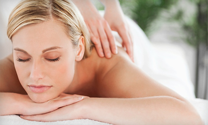 Saggio Spa - Penfield: Mother-Daughter Pedicures or 60-Minute GlowSage Back Massage with Eye Treatment at Saggio Spa (Up to 56% Off)