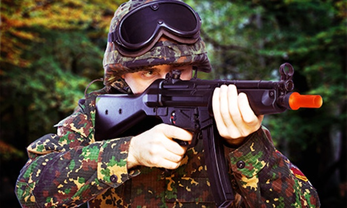 Impact Combat Simulations - Northeast Calgary: Airsoft Packages for One, Two, or Four at Impact Combat Simulations (Up to 59% Off)