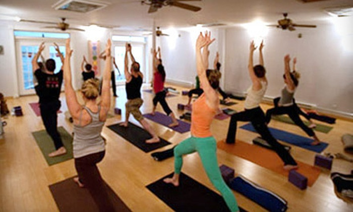 GoYoga - Multiple Locations: 5 or 10 Classes at GoYoga (Up to 77% Off)
