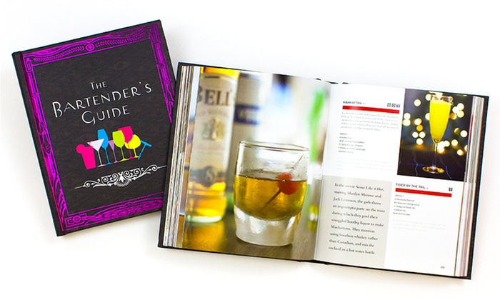 The Bartender's Guide Recipe Book: The Bartender's Guide Recipe Book