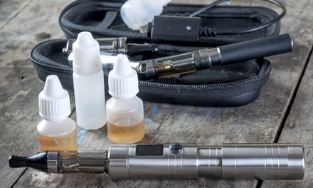 E-Cigarette Starter Kit or $10 for $20 Worth of E-Cigarette Products at Orlando Vapor and Lounge