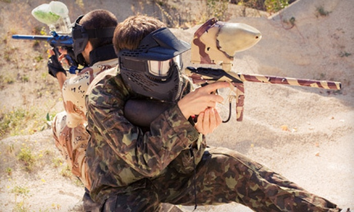 Ricky's Paintball - Marty Robbins North: Paintball Package with All-Day Admission and Equipment Rental for One, Two, or Four at Ricky's Paintball (Up to 55% Off)
