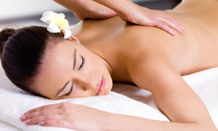 55- or 80-Minute Therapeutic Massage at Elements Massage (Up to 63% Off)