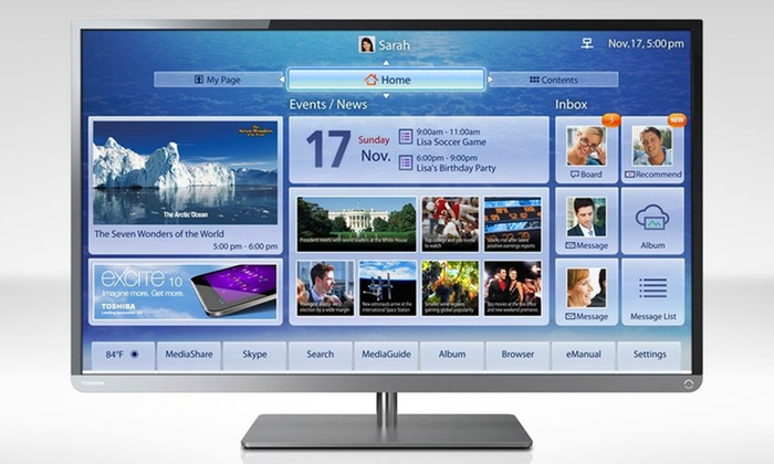 "Toshiba 58"" 240Hz 1080p LED Smart TV: Toshiba 58"" 240Hz 1080p LED Smart TV (58L4300U). Free Returns."