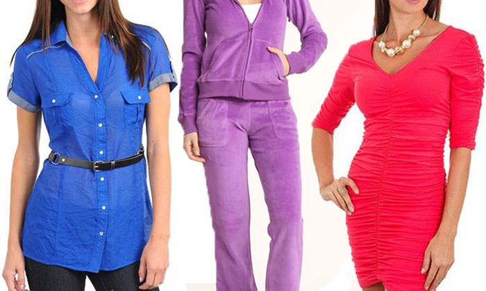 24|7 Frenzy: Women's Clothing and Accessories from 24|7 Frenzy (Up to 72% Off). Two Options Available.