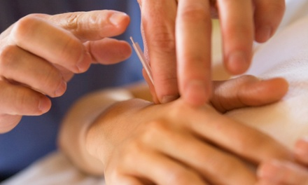 $30 for Initial Evaluation and Two Acupuncture Treatments at Acupuncture For All ($60 Value)