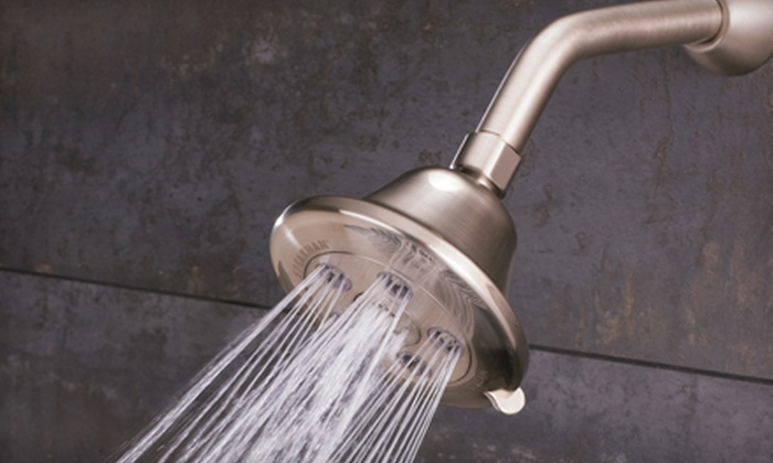 Speakman Anystream Nickel Shower Fixtures: Speakman Anystream Showerheads and Fixtures (Up to 68% Off). 10 Options Available. Shipping Included.