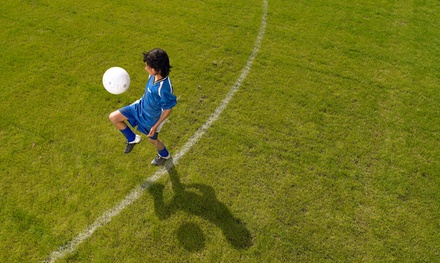 $115 for a Five-Day Soccer Camp for Kids Aged 9–16 at World Soccer Academy ($250 Value)