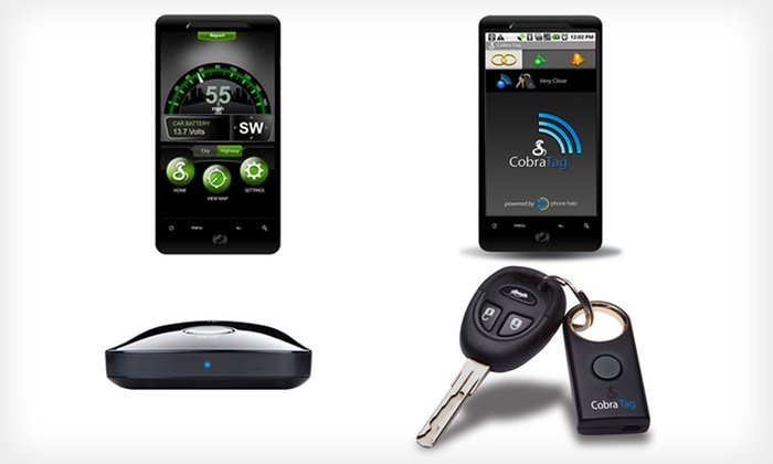 Cobra High-Tech Mobile Driving Devices: Cobra Lost-and-Found Mobile Tag and iRadar Detector (Up to 55% Off). Free Shipping and Returns.